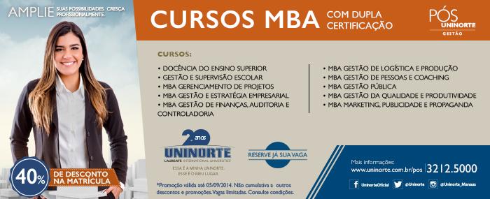 Pós-Graduação UniNorte 2014