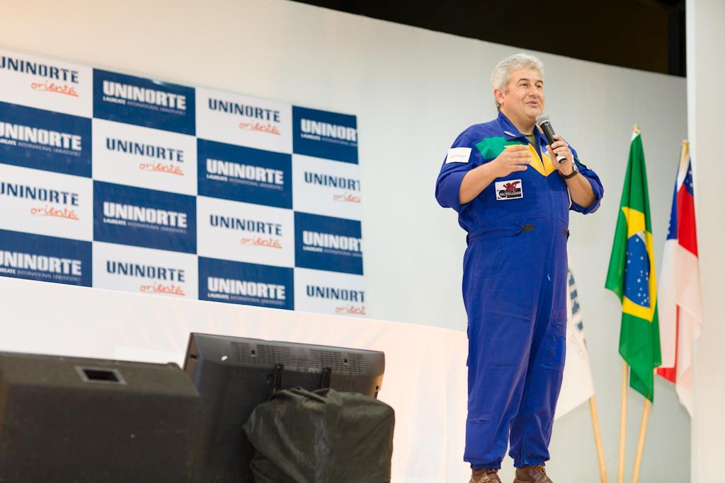 Visita do Marcos Pontes à UniNorte.