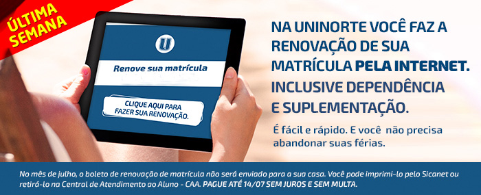 Renovação UniNorte - 2014